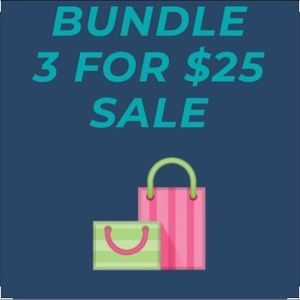Accessories - Bundle 3 items with a 🍂 in the listing for $25!